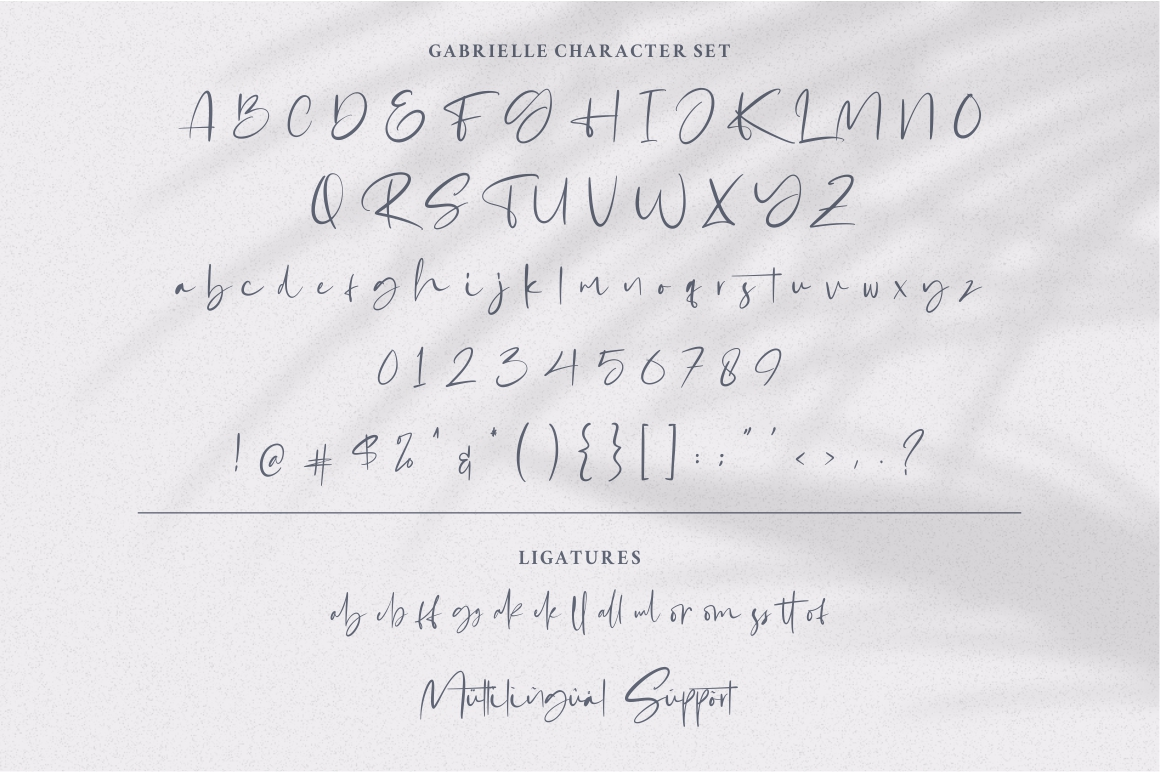 Gabrialle - Casual Script Font example image 6