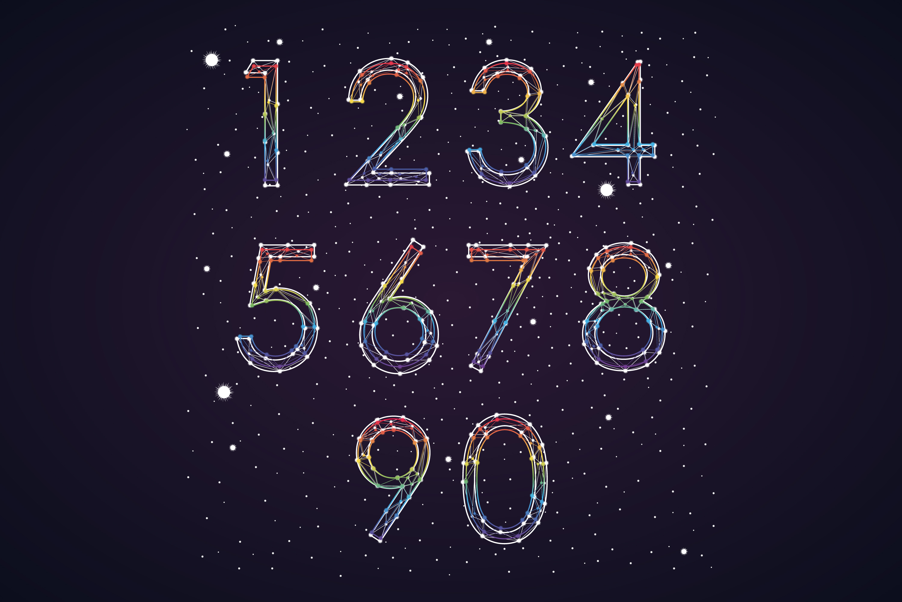 Font constellation example image 6
