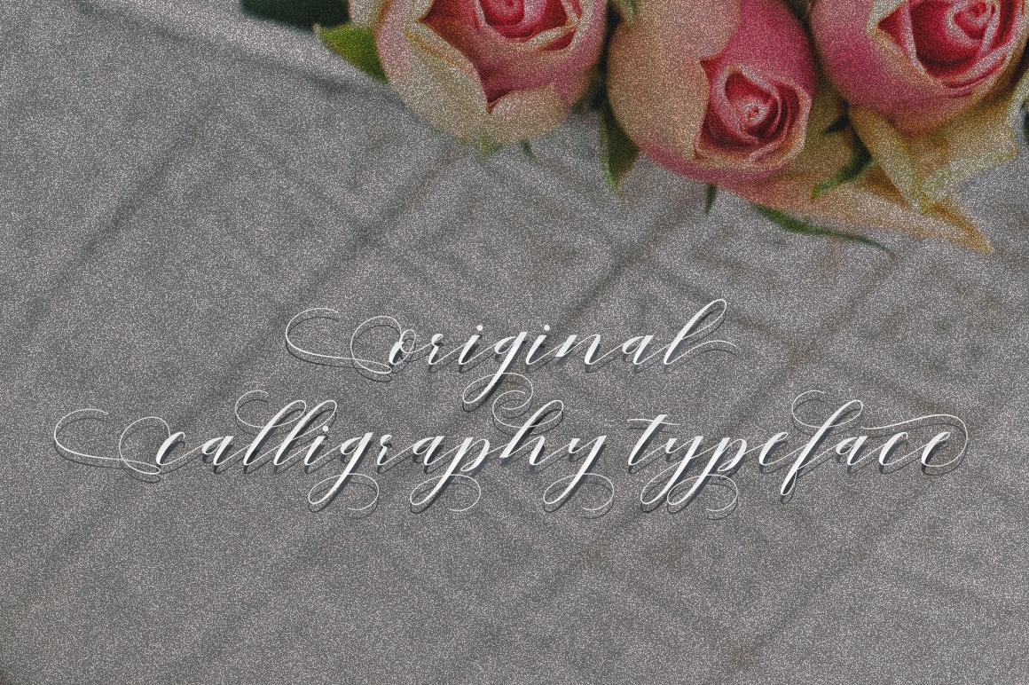 Mahogany Script example image 4