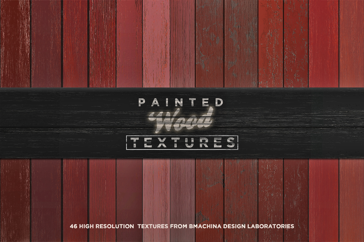Painted Wood Textures example image 3