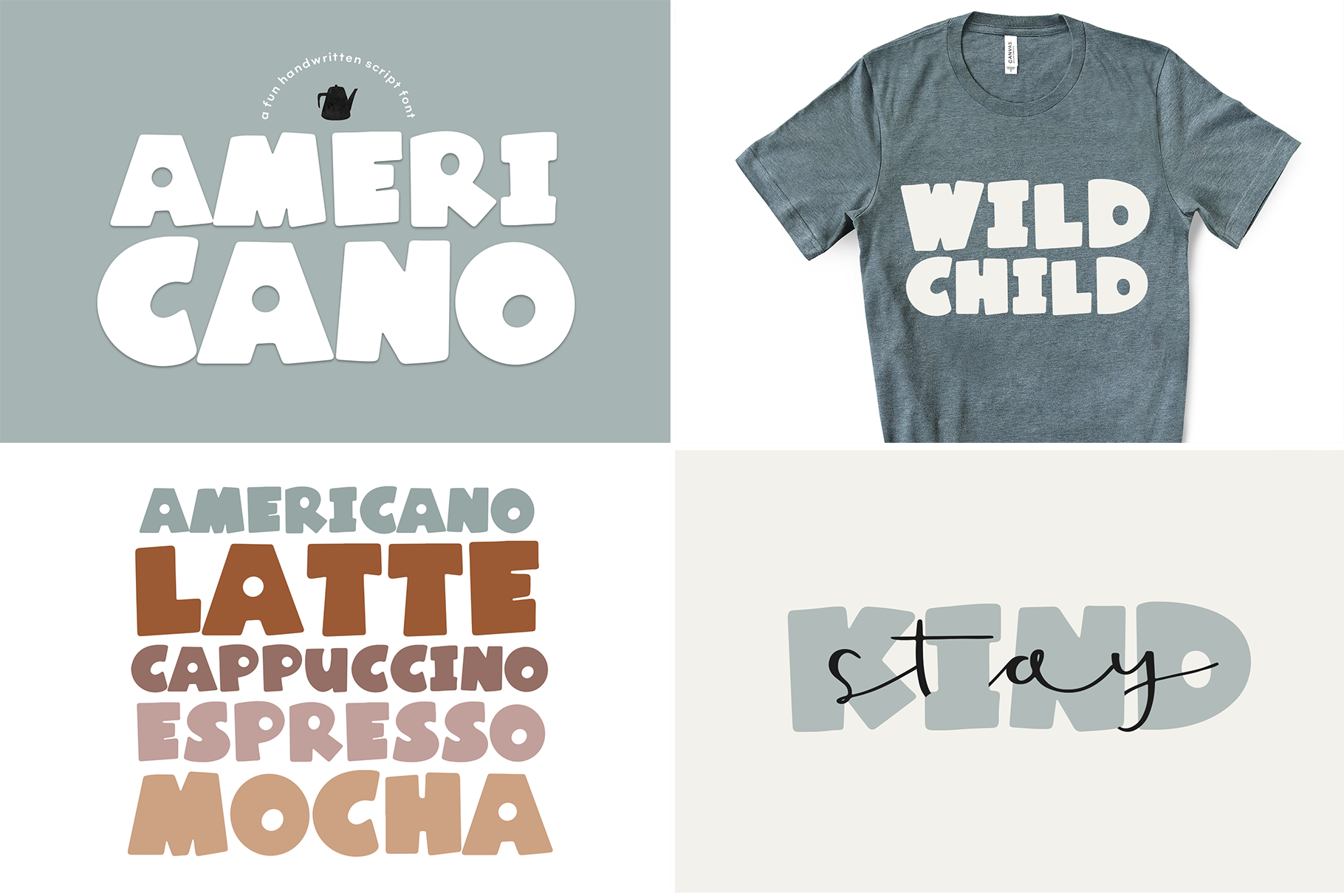 The Coffee Bundle - 6 Fun & Quirky Fonts example image 25