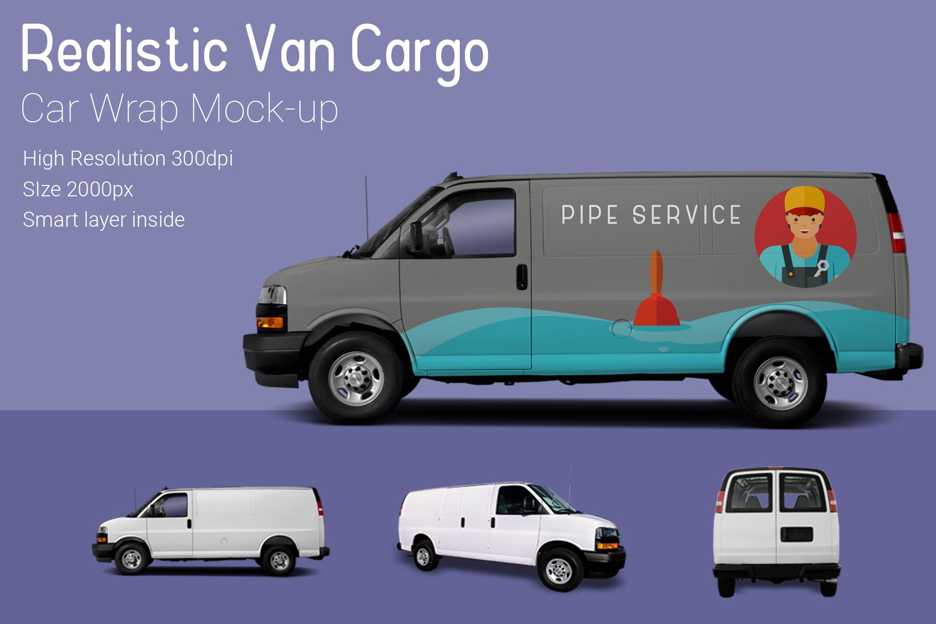 Van Mock-Up example image 3