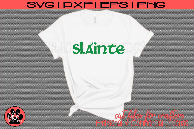Slainte| St Patrick's Day SVG Cut File example image 1