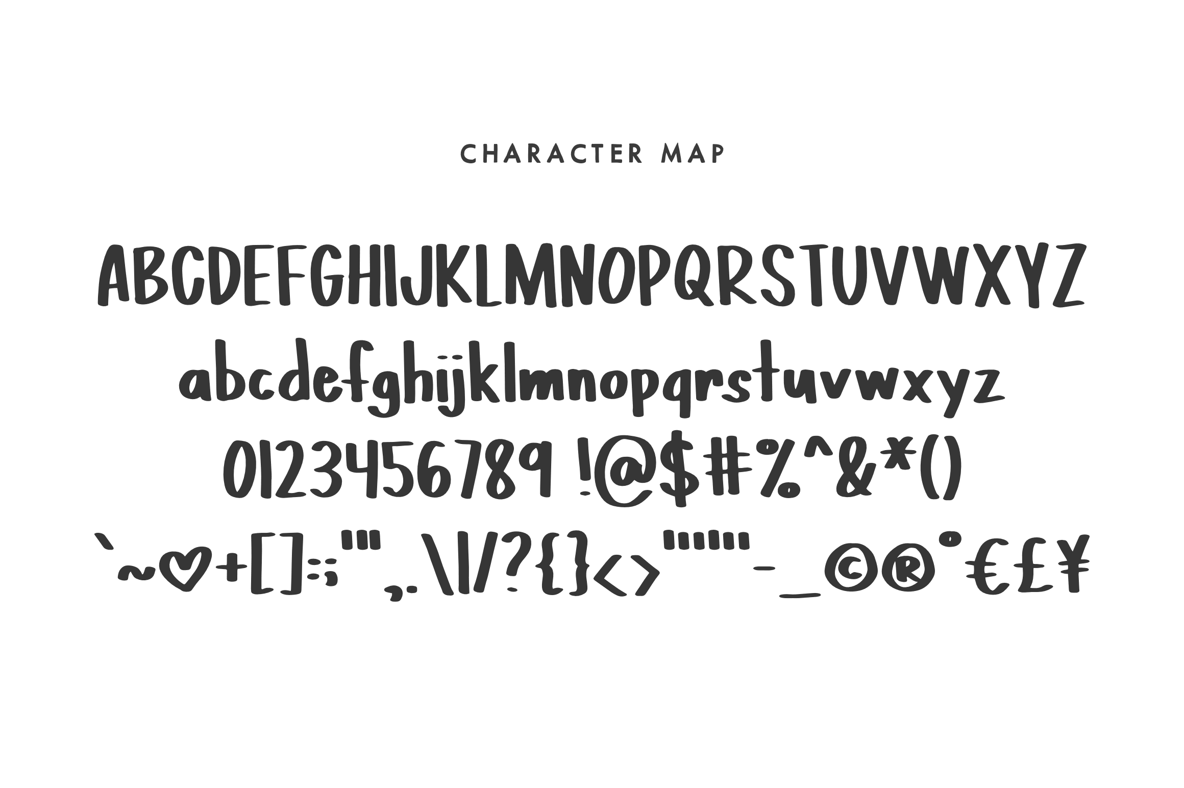PINTA - A Handpainted Font example image 2
