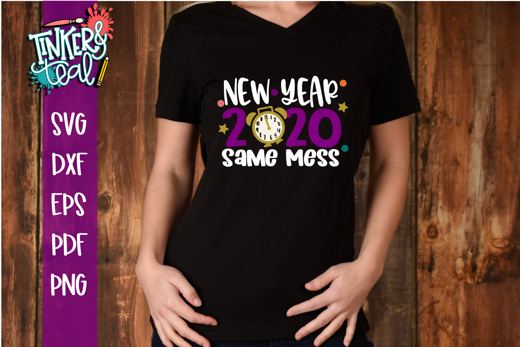 New Year Same Mess SVG example image 1