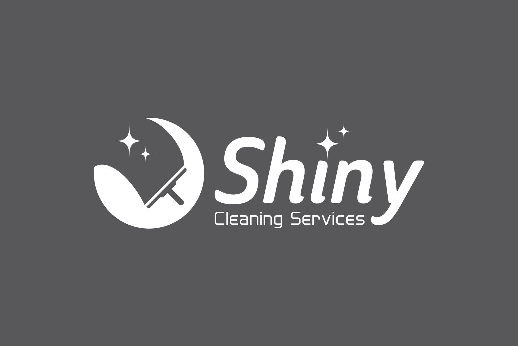 Shiny Cleaning Services Logo - SK example image 3