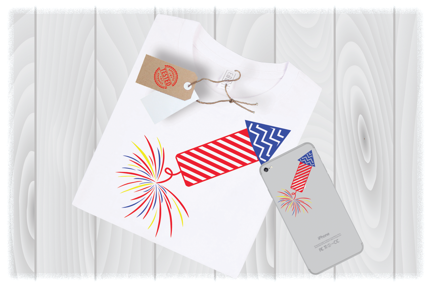 Firecracker SVG Files for Cricut Designs | 4th of July SVG example image 1