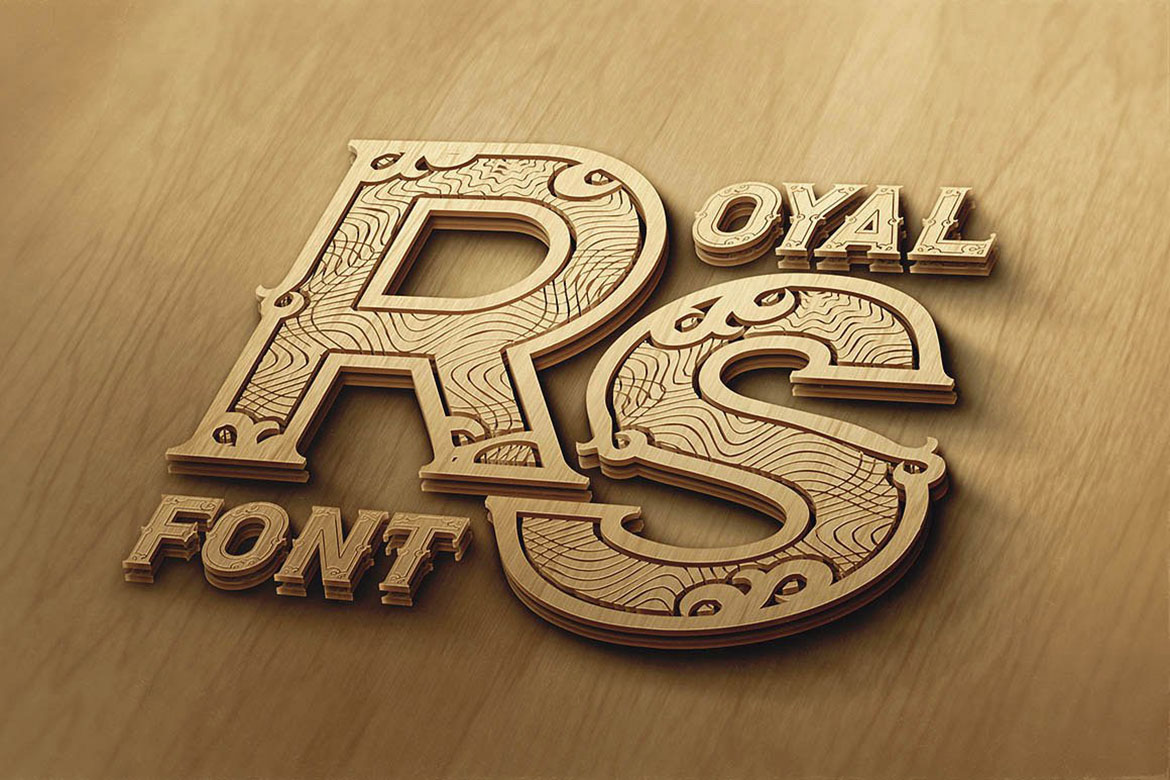 Royal - Vintage Style Font example image 4