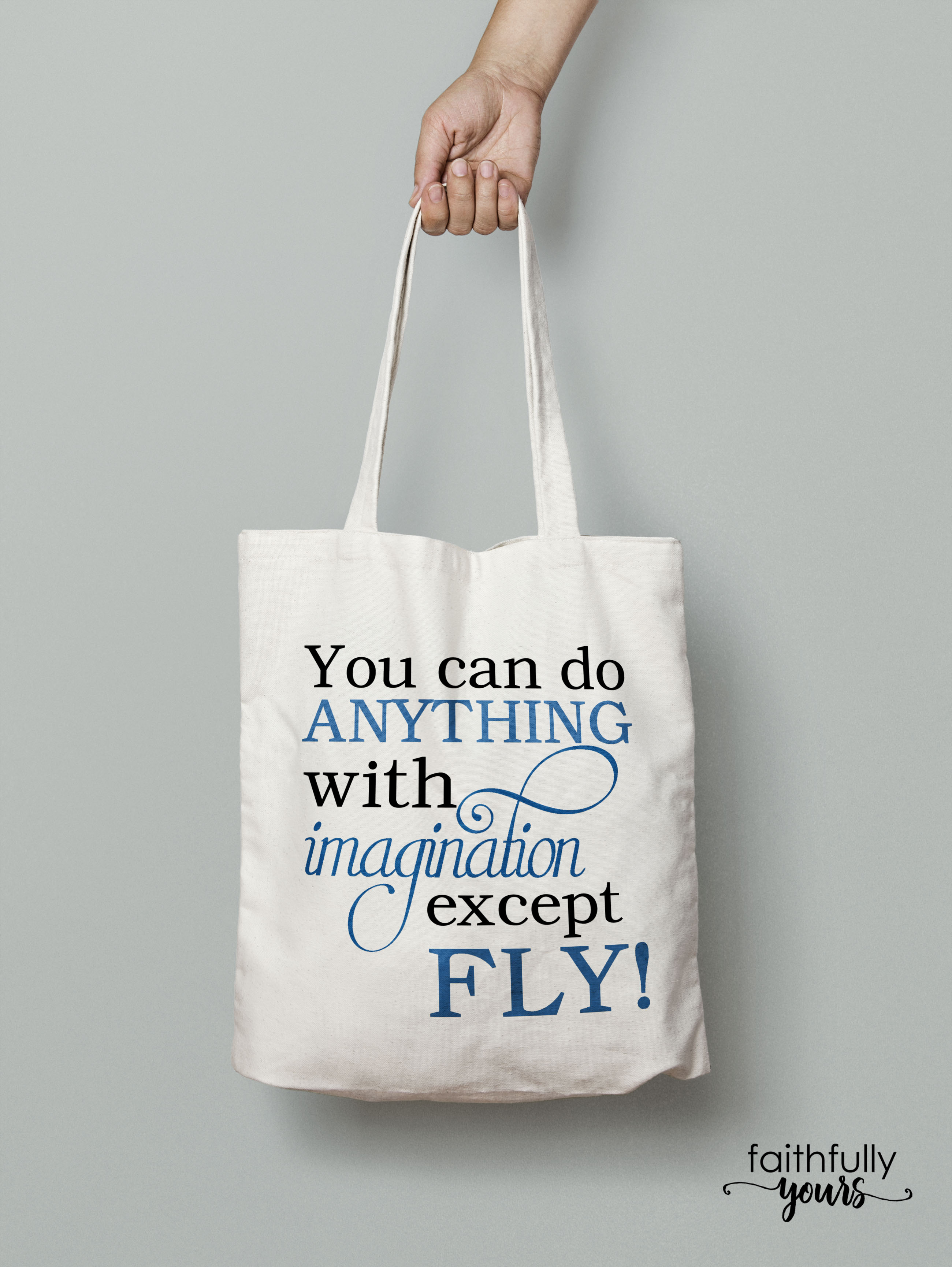 You can do anything with imagination except FLY! funny svg example image 2