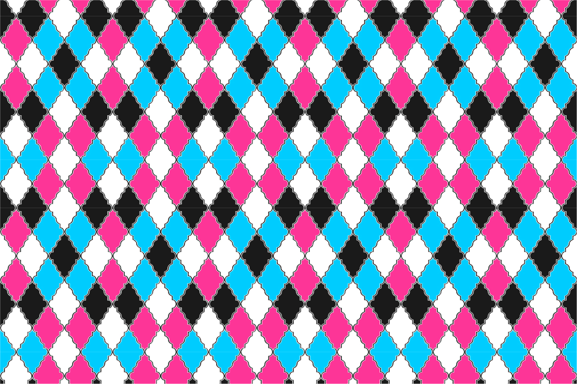 Colorful ornamental patterns. example image 3