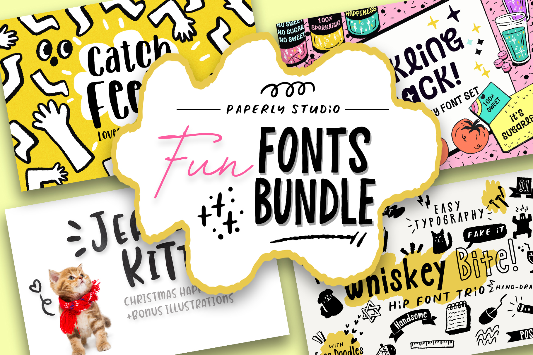 Fun Font Mini Bundle & Extras example image 1