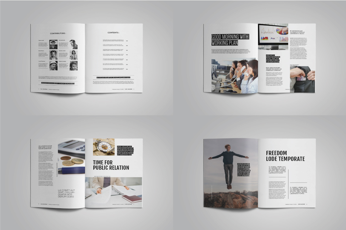 A4 Good Magazines example image 2