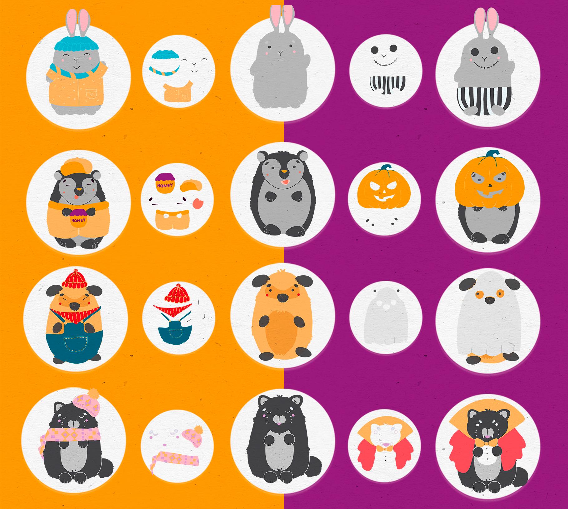 Character creator - Fall holidays example image 4