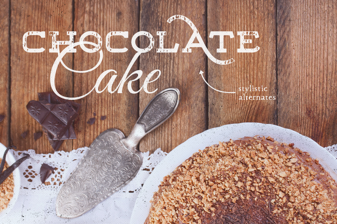 Floure Typeface + Extras example image 3
