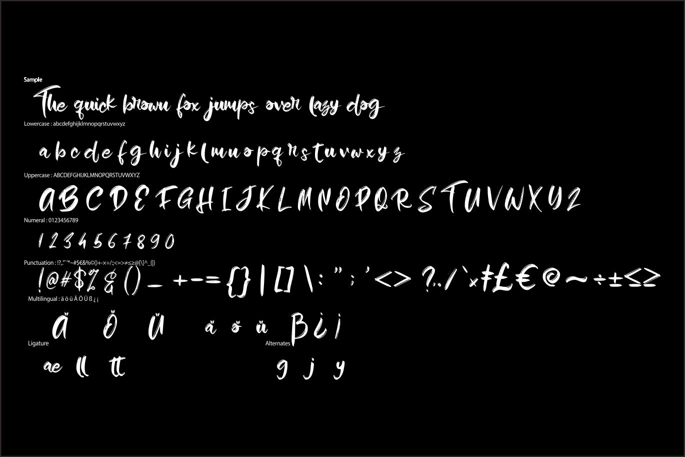 Humble   Mystical Typeface example image 6