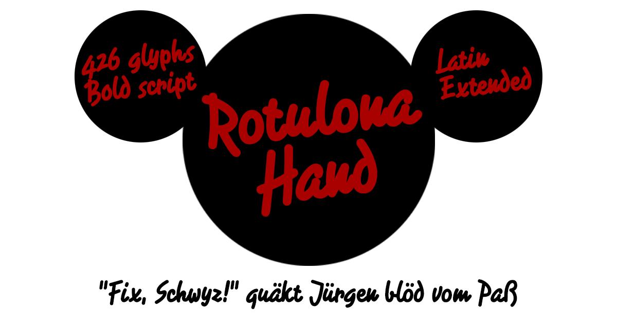 Rotulona Hand example image 3