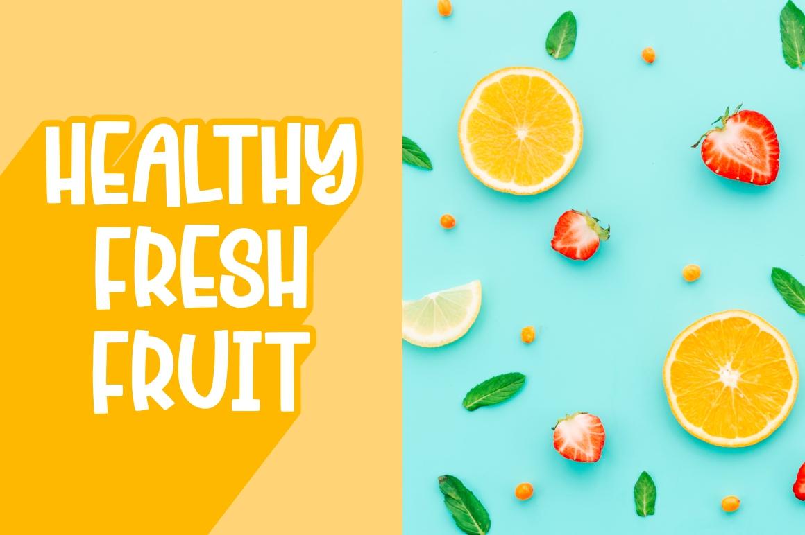 Cherry Bell - Freshty Font example image 3