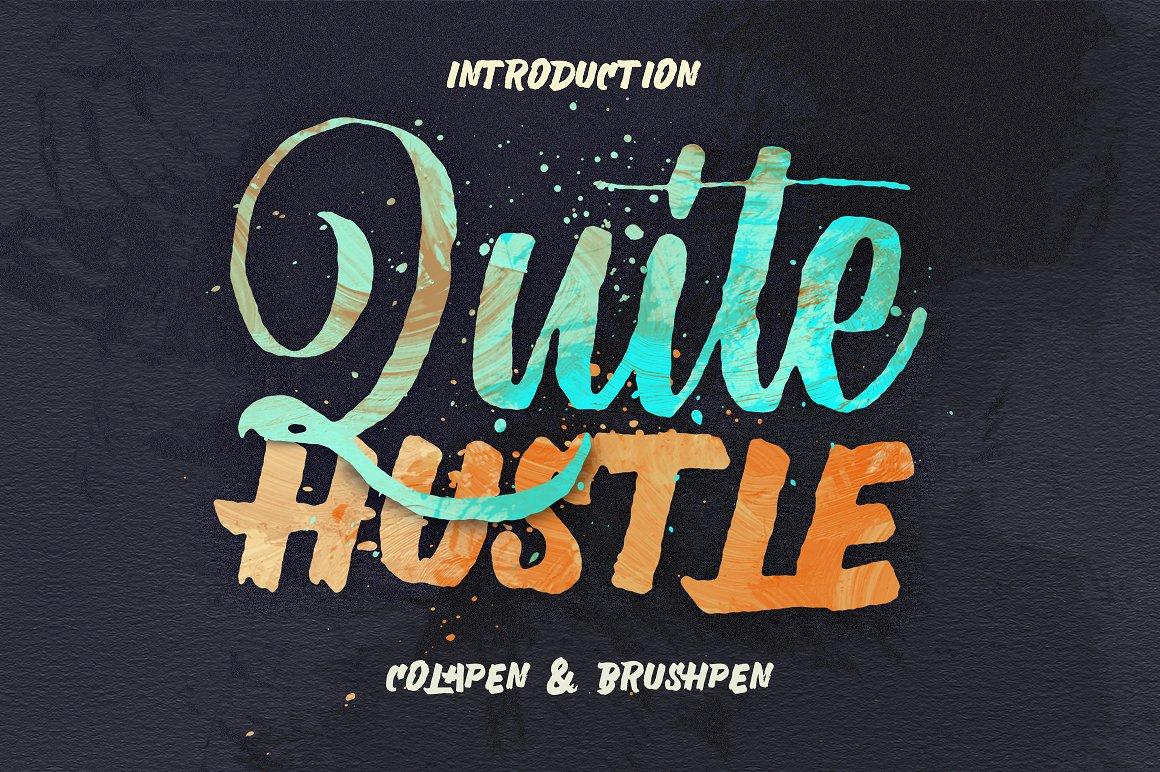 Quite Hustle example image 1