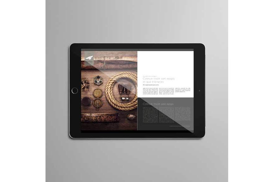 Digital Corporate Magazine Template example image 2