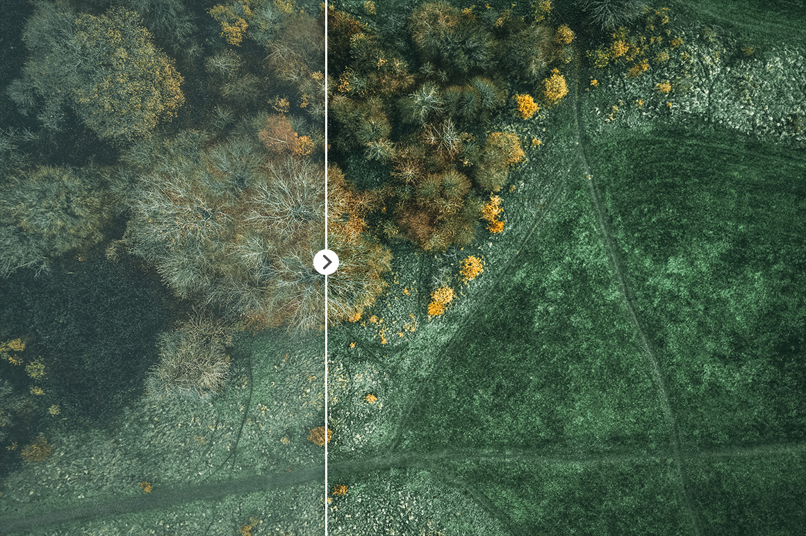 45 Lightroom Presets for Aerial Photography with Drones example image 15