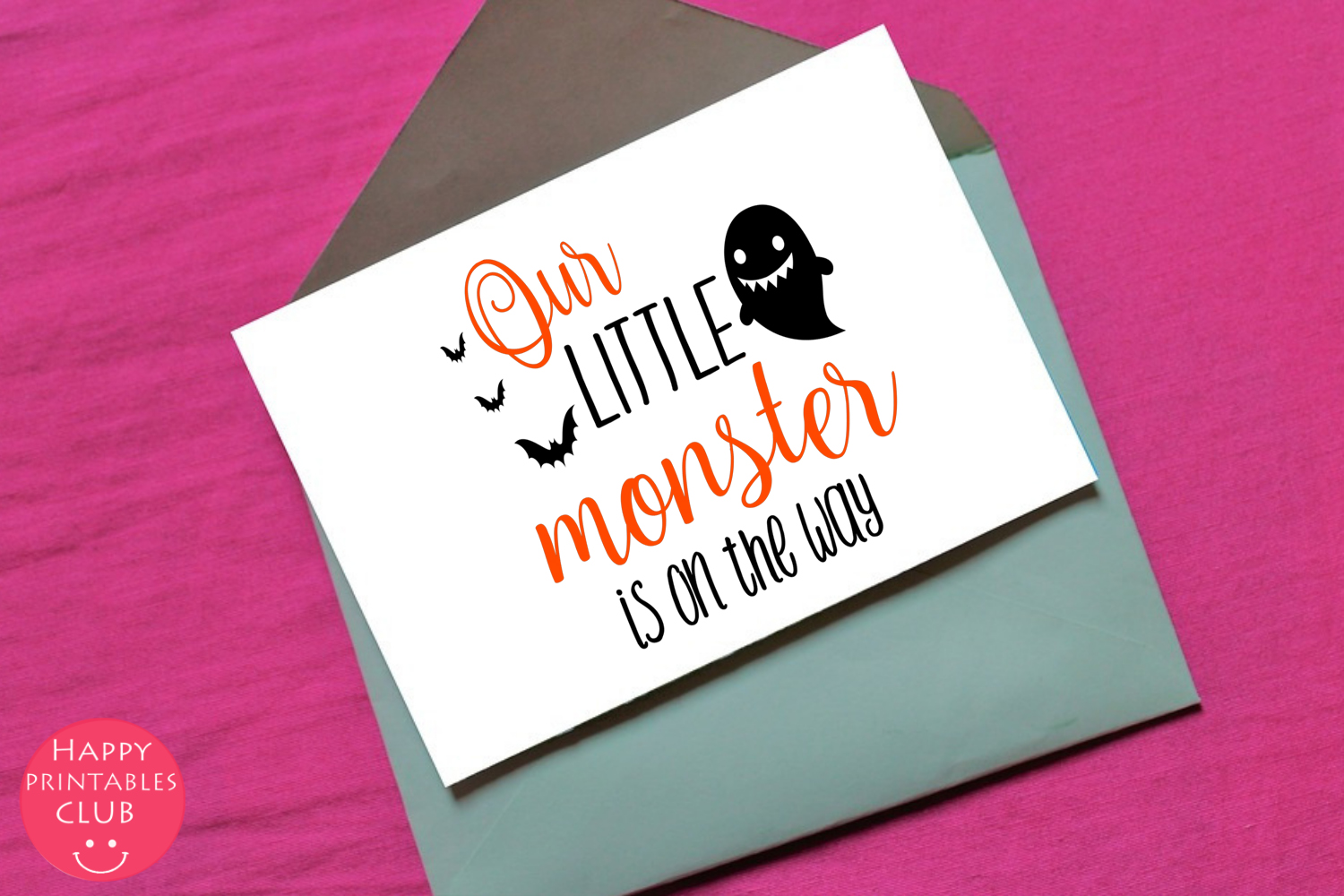 Halloween Pregnancy Announcement Text Overlays Clipart example image 3