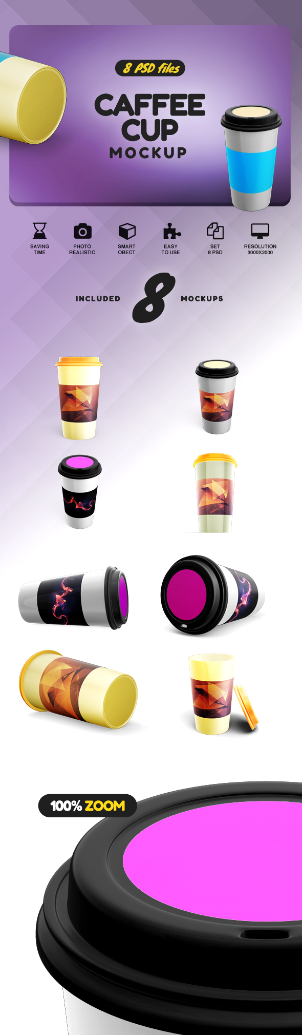 Caffee Cup Mockup example image 2
