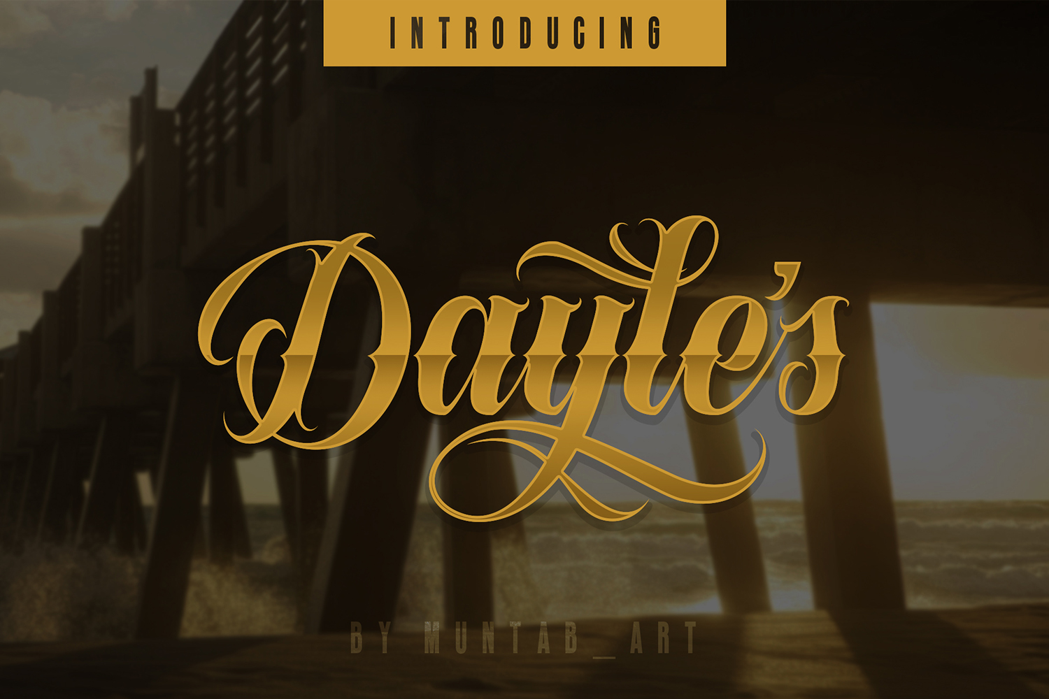 Dayles Script Fonts example image 2