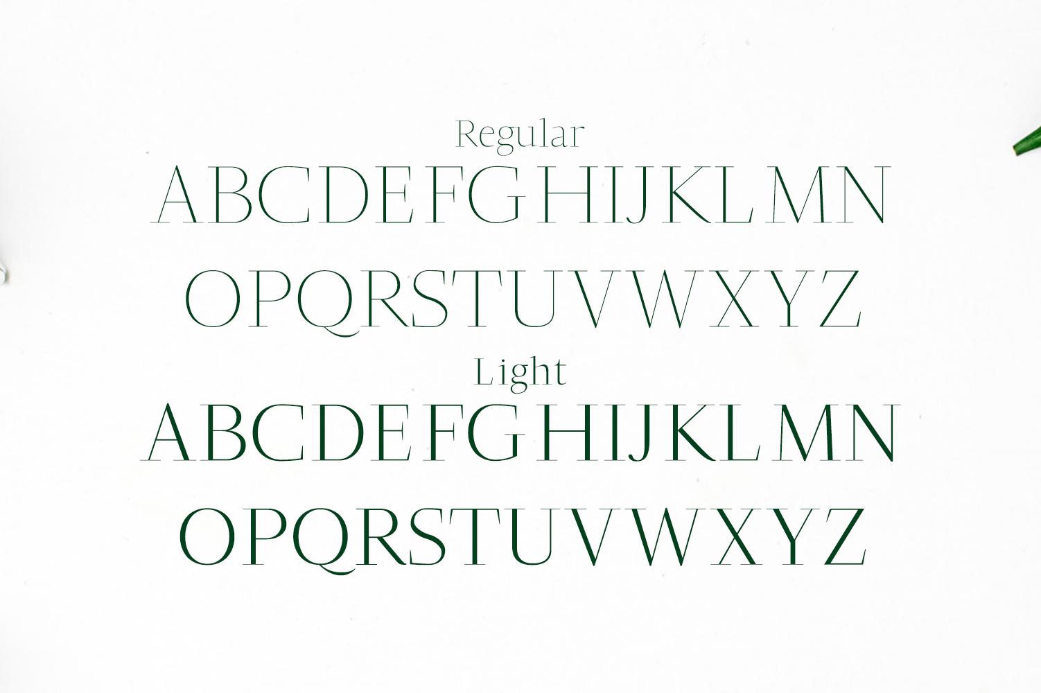 Jesusa Serif Typeface example image 2