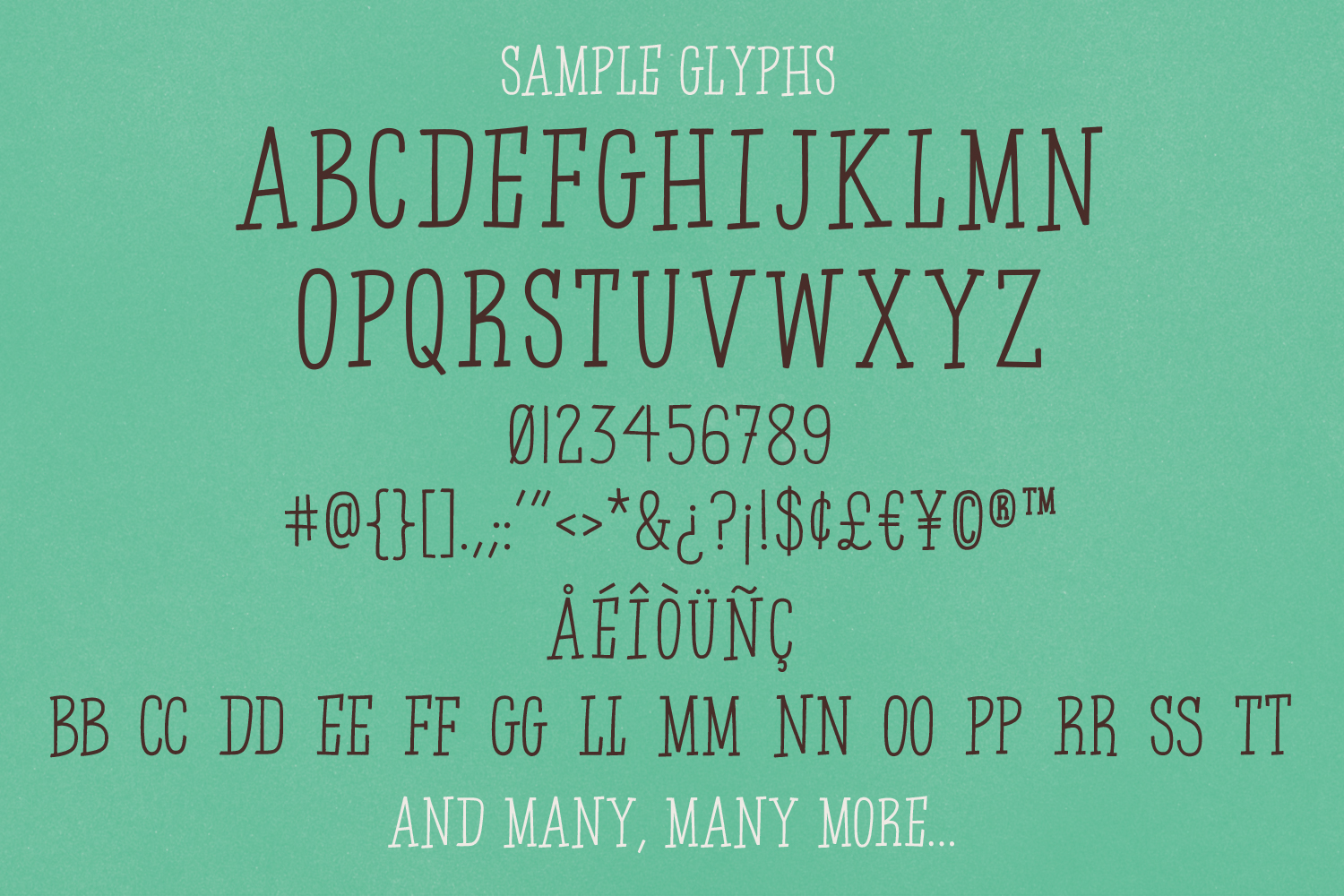 Boy Detective - Display Font example image 5