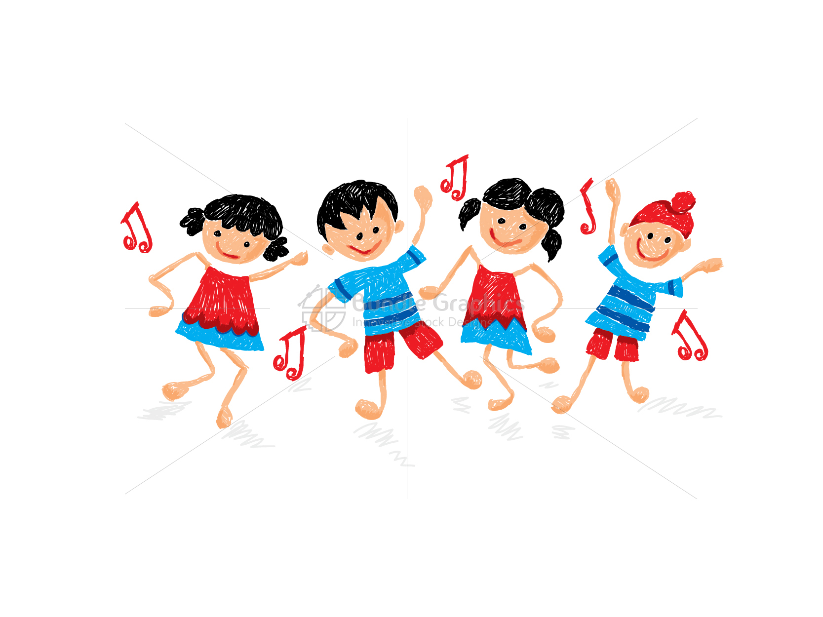 Kid Dance Activity Class Graphical Illustration example image 3