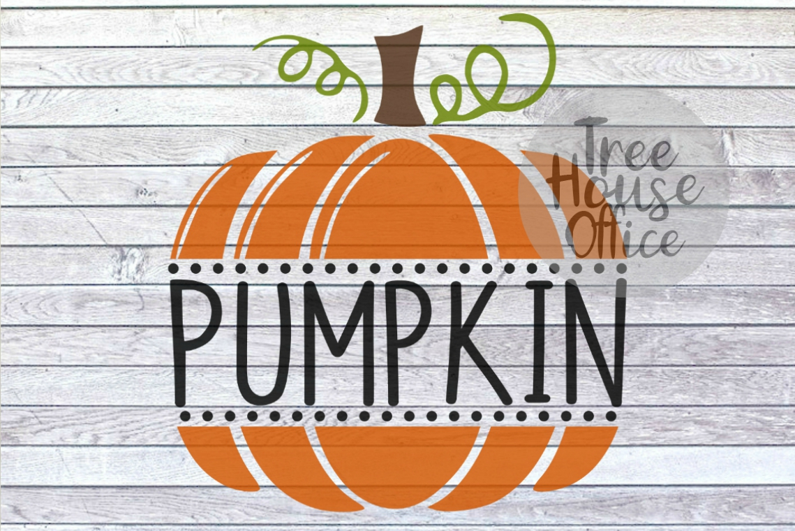 Pumpkin Cute Fall Baby's First 1st Halloween SVG PNG JPG DXF example image 1
