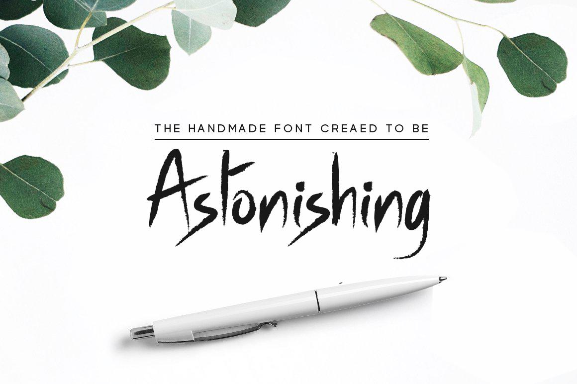 Outshine - Luxury / Handwritten Font example image 4