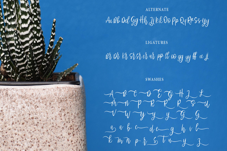 Abhyaksa Handwritten Font example image 11
