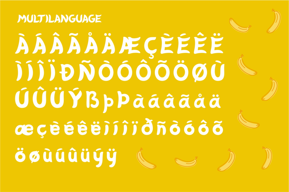 Banabo - Banana Font example image 3