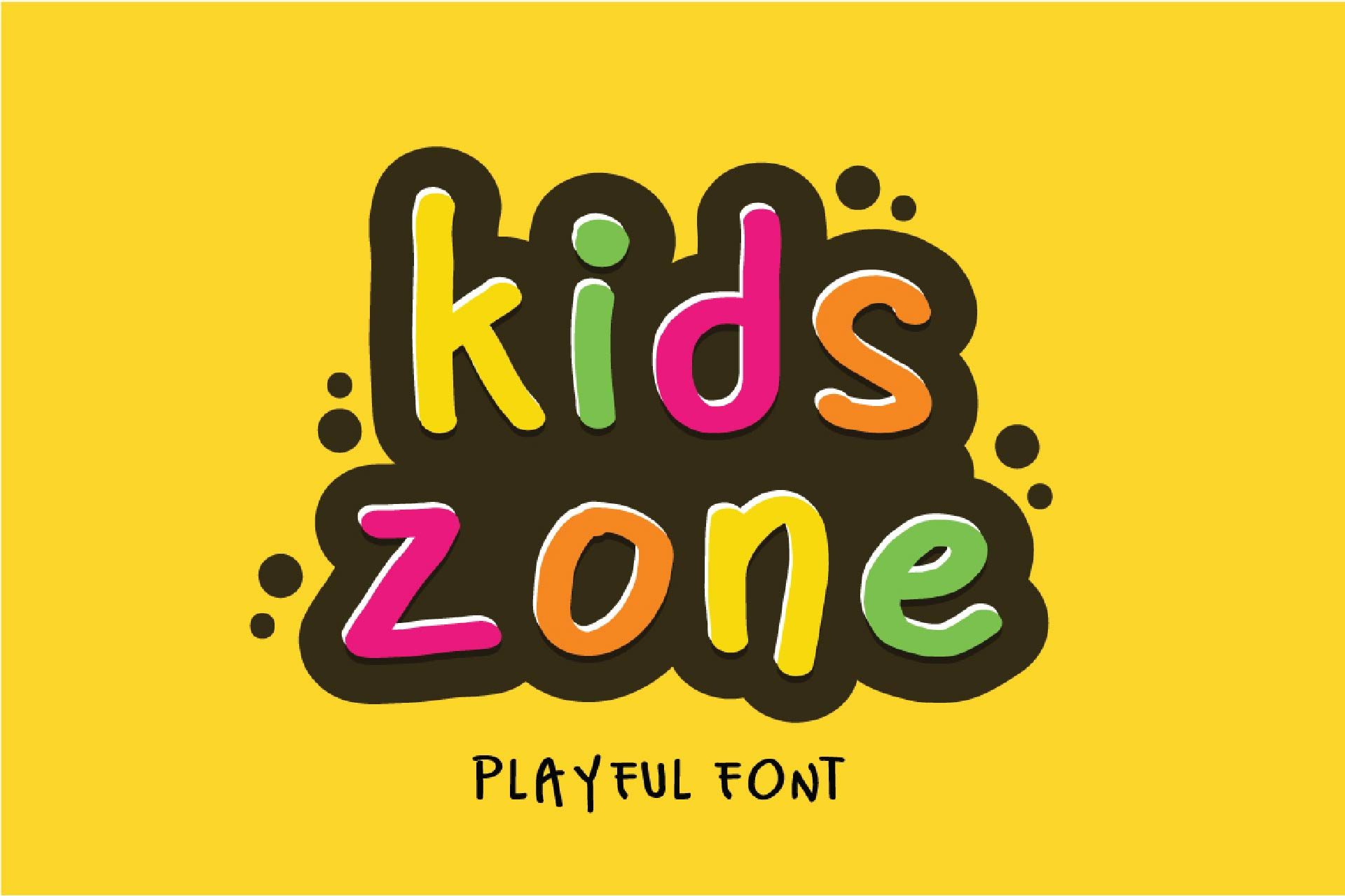 Kids Park - Playful Font example image 3