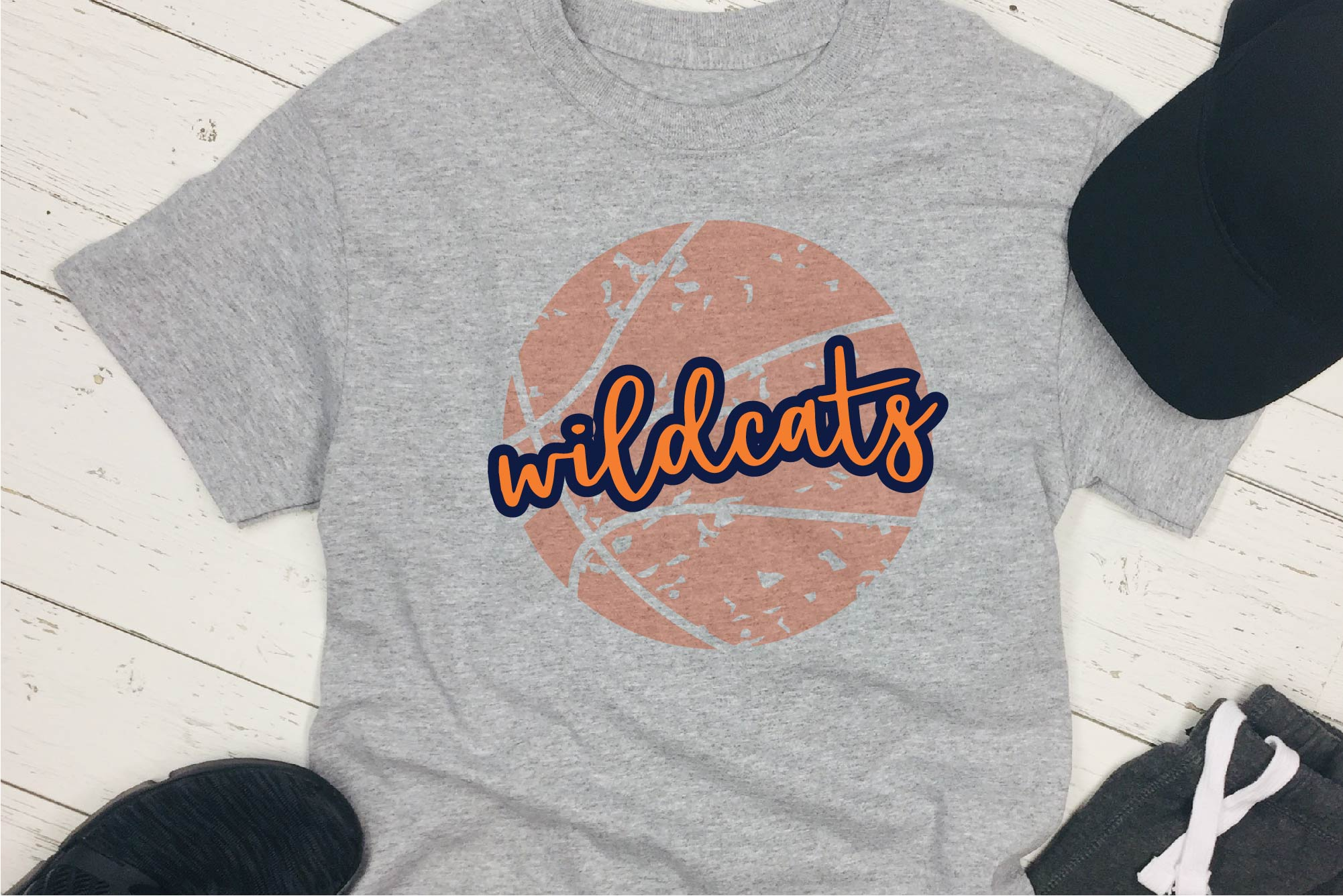 Sports SVG, Wildcats Basketball SVG, Sports Sublimation example image 1