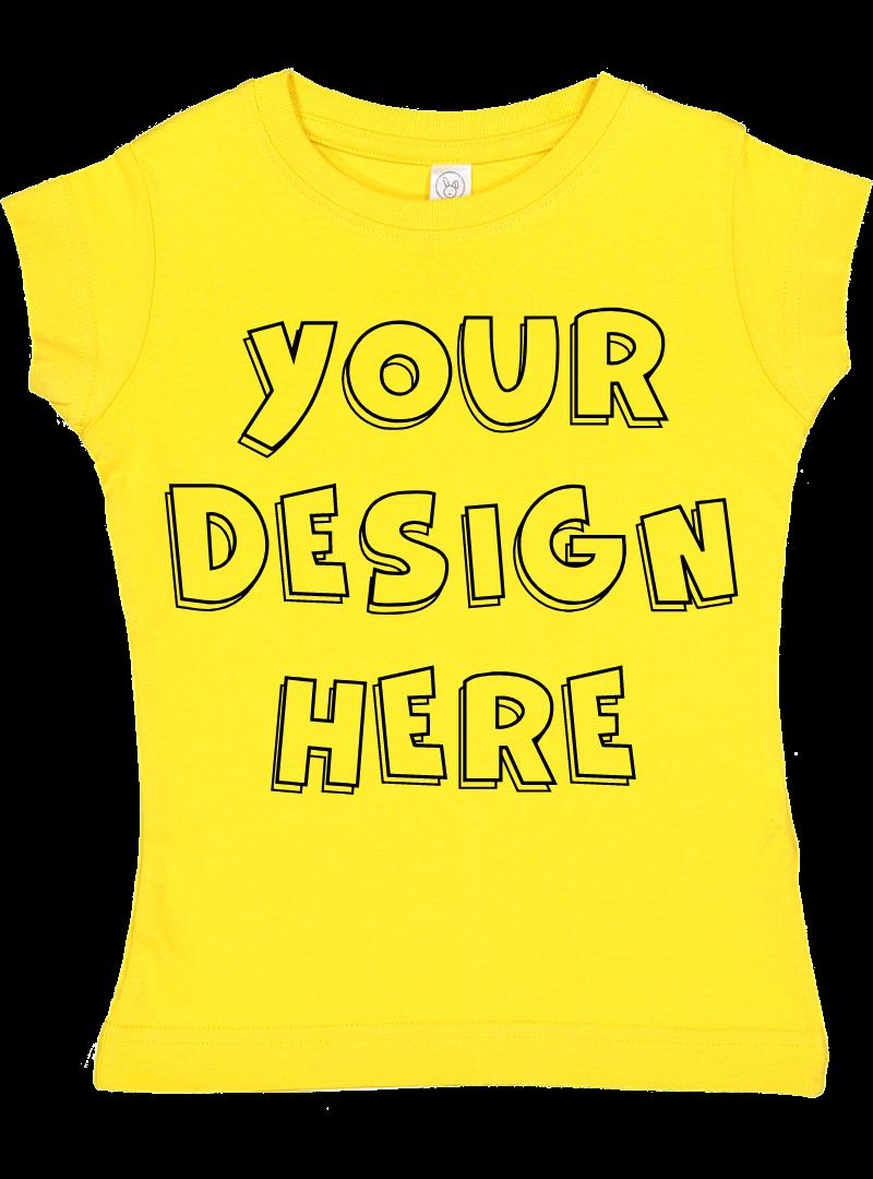 Toddler Gilrs Flat Jersey T Shirt Mockups - 17 example image 18