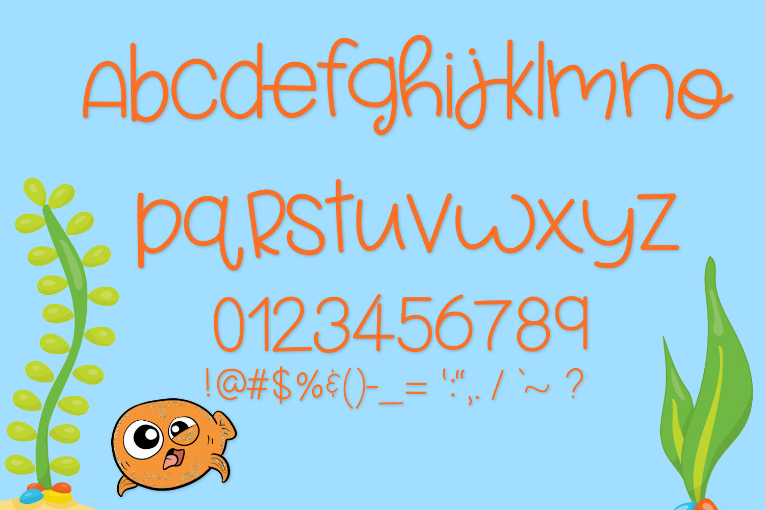 Fish Face - A Really Fun Handwritten Font example image 5