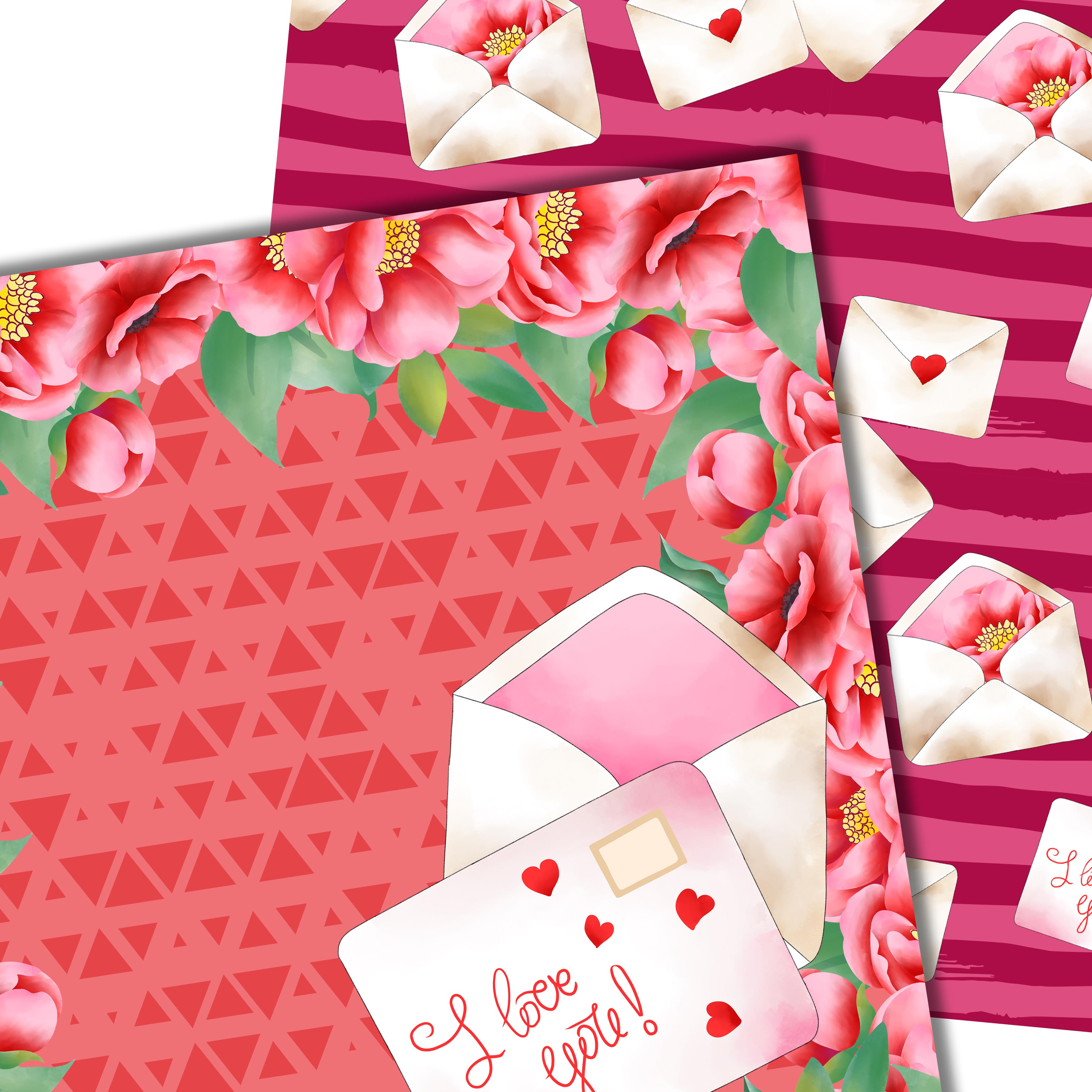 Love letter pattern example image 5