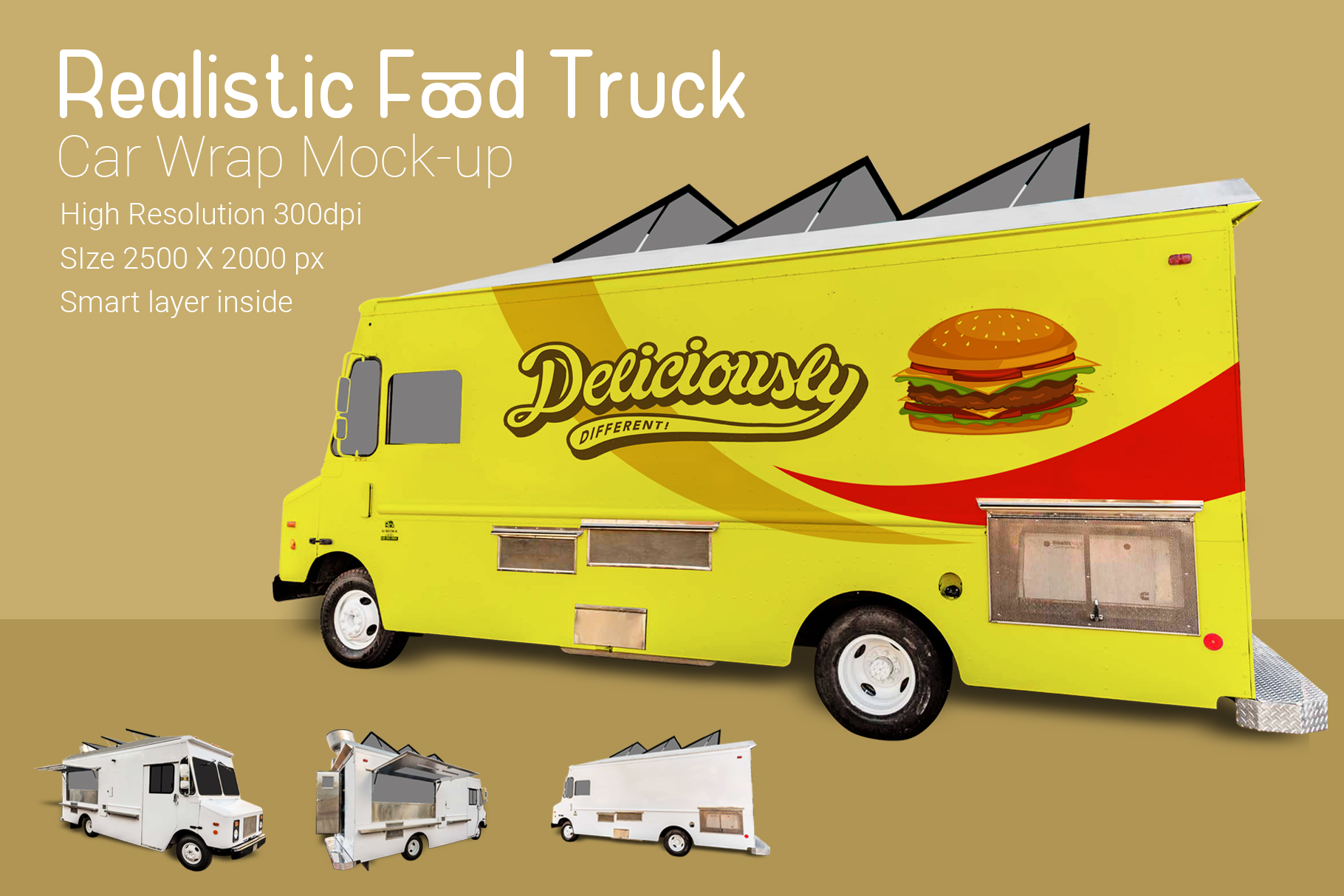 Food Truck Mock-Up example image 3