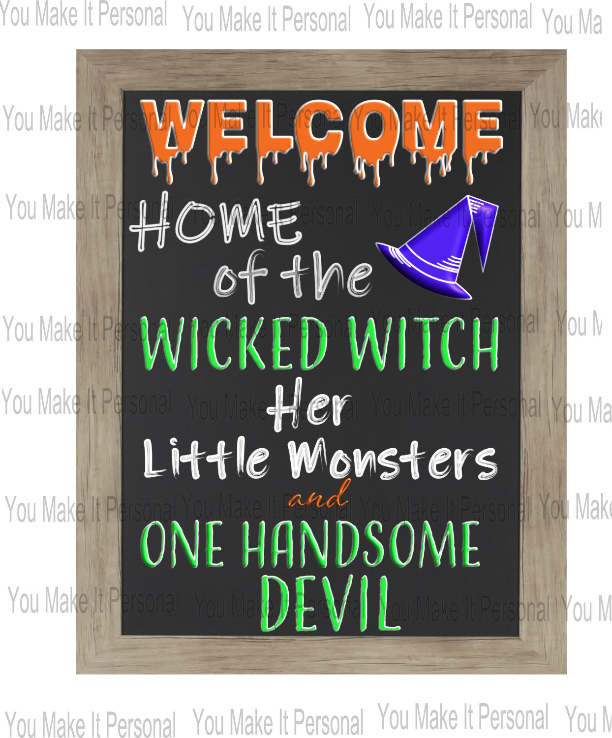 Home Of The Wicked Witch Sign and SVG example image 2