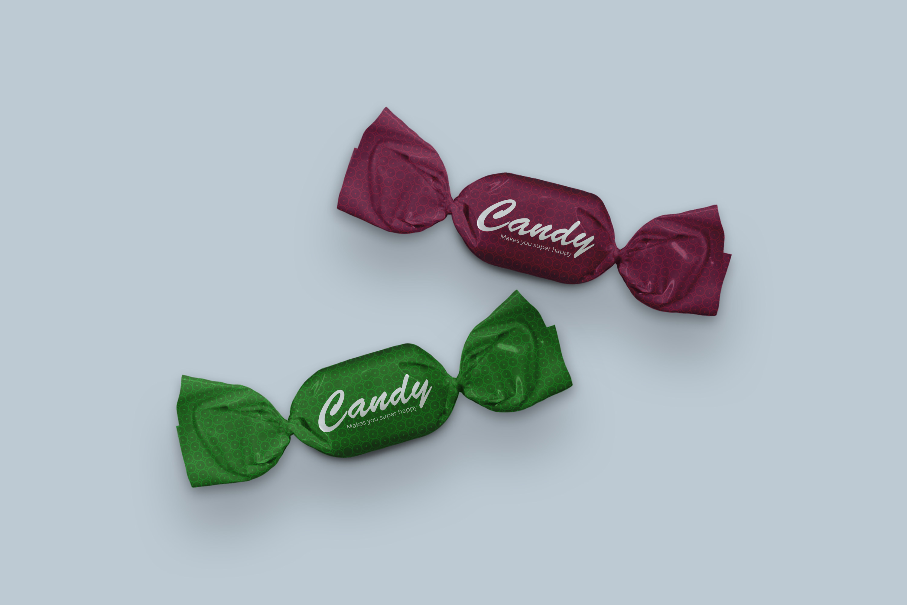 Candy Wrapper Mock-Ups Set example image 3