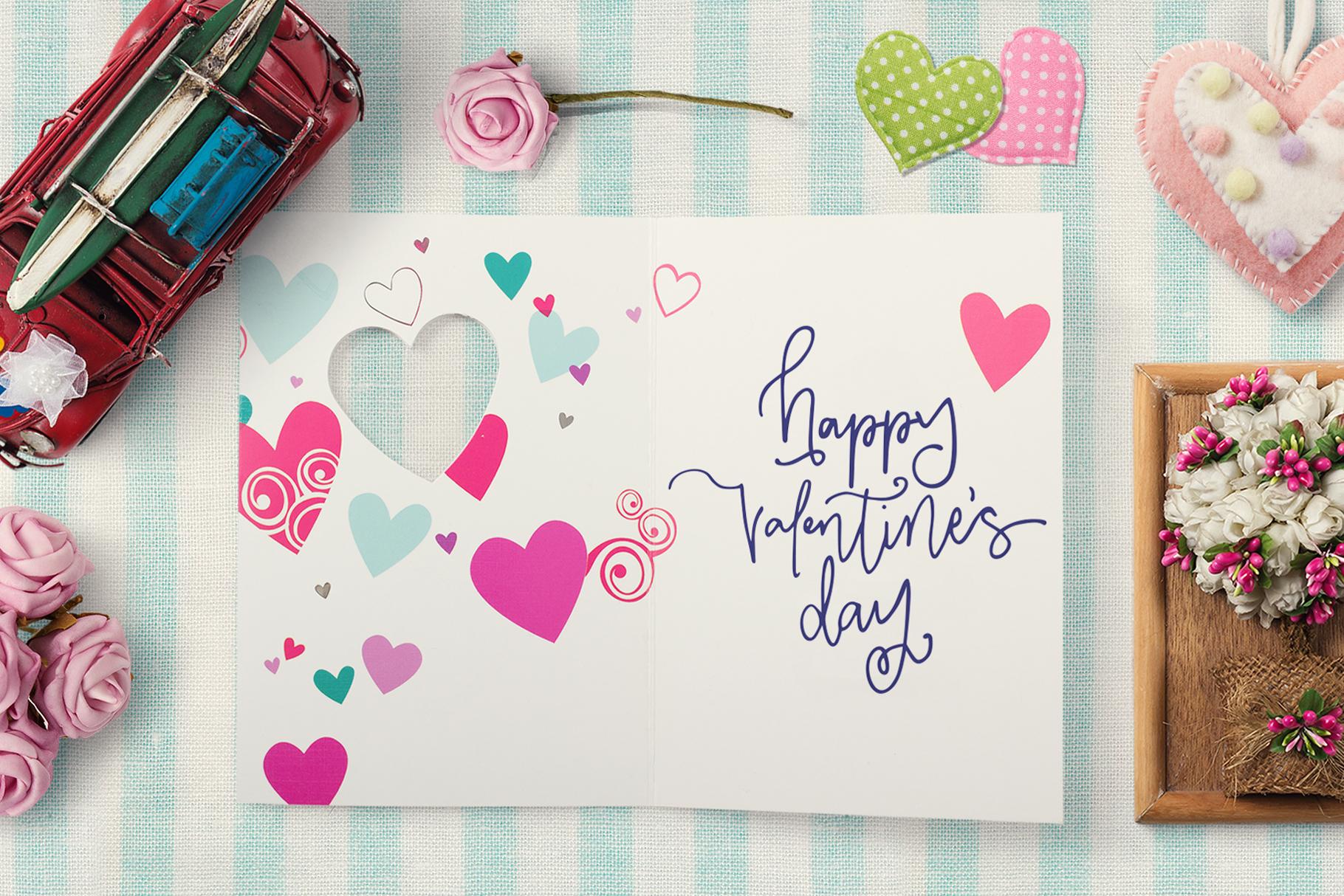 Valentine Symbols Font example image 2