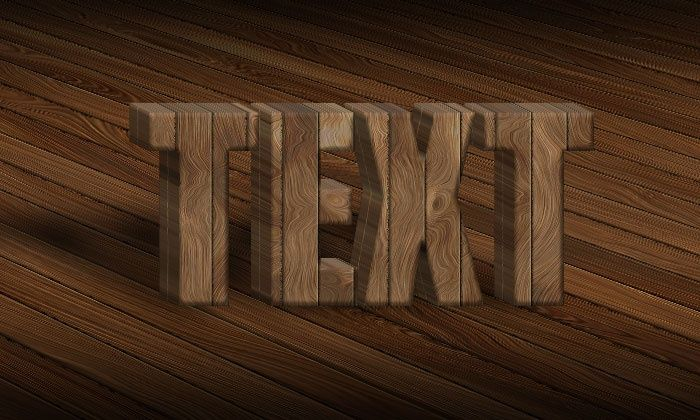 3D Wood Text Styles Kit for Photoshop example image 2