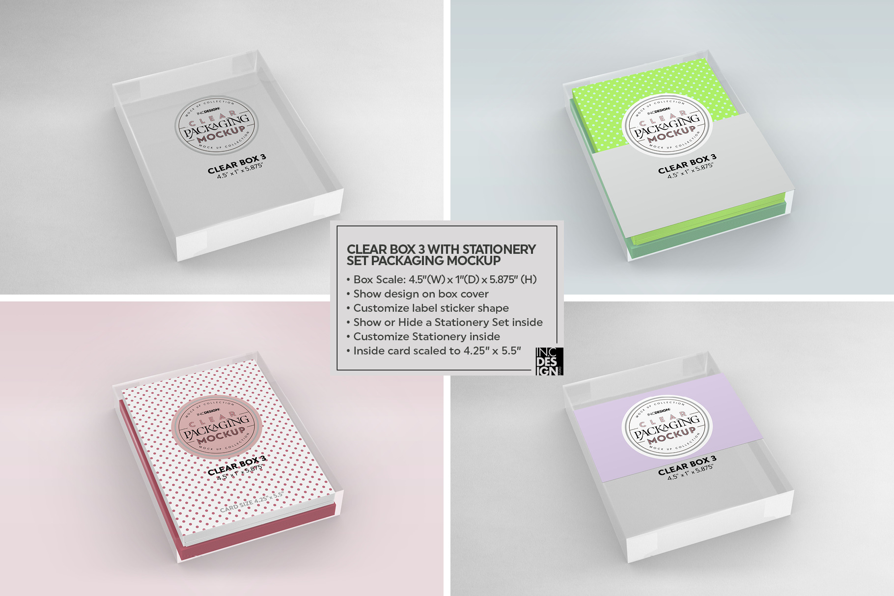 VOL.7 Clear Packaging Mockup Collection example image 21
