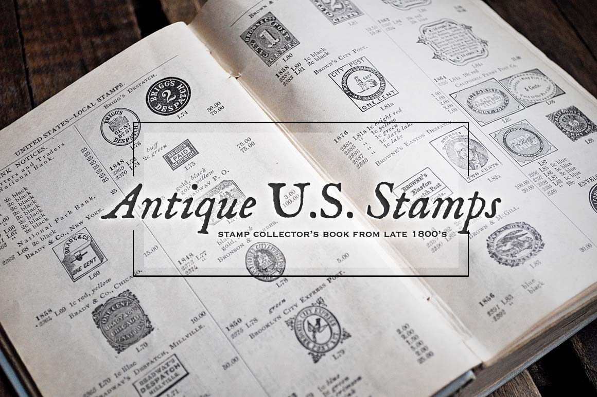 Antique US Stamp Graphics example image 4
