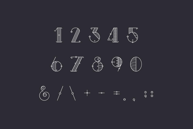 Alchimique Decorative Font example image 4