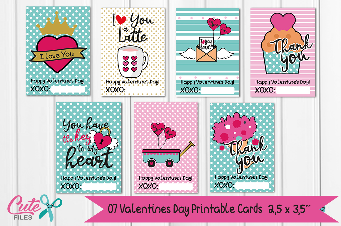 Digital papers valentines day, Valentines Day Printable Cards ...