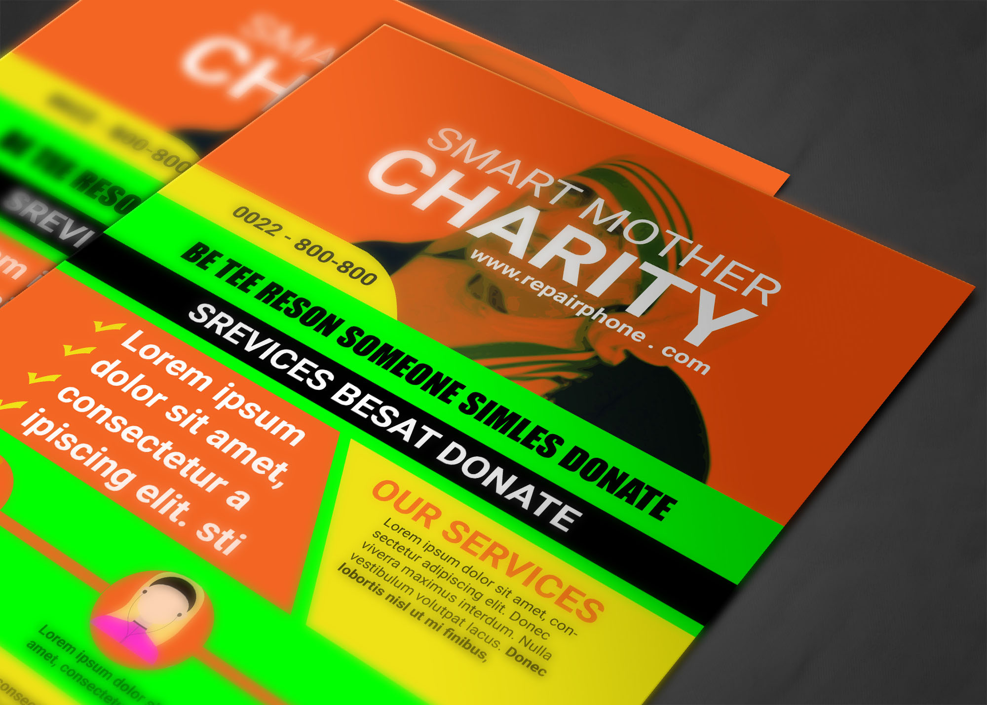 CHARITY FLYER example image 3