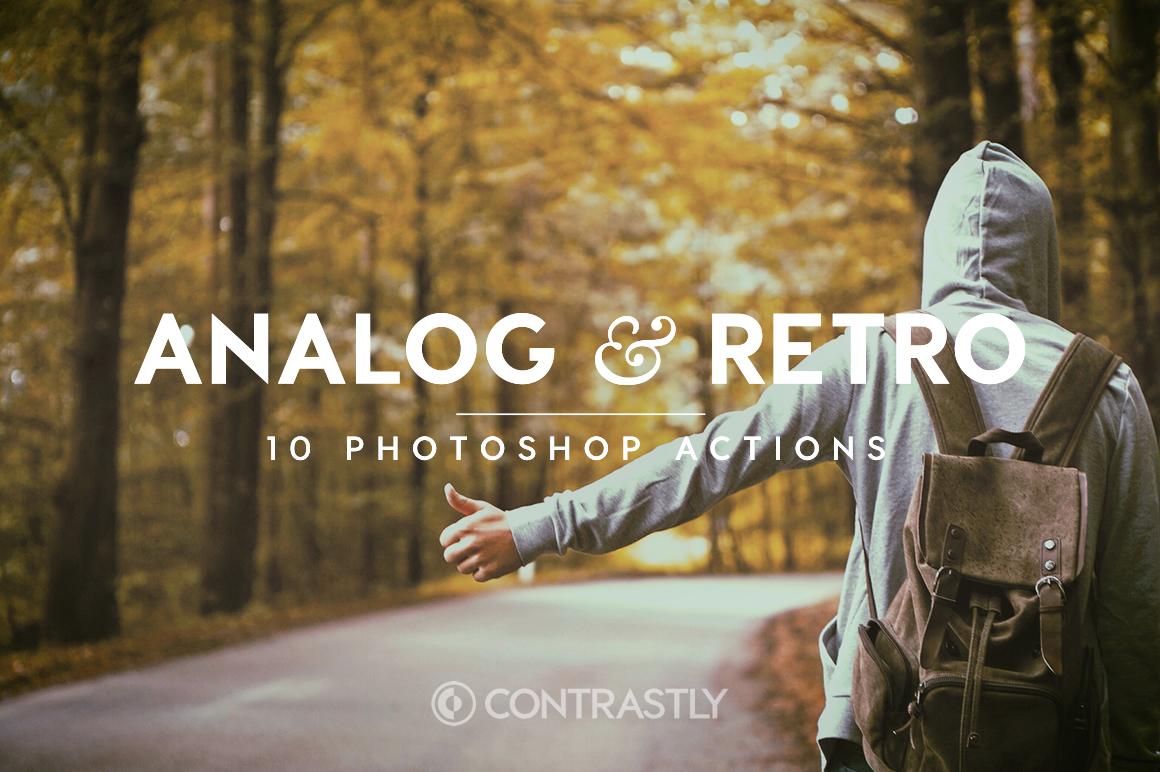 Analog & Retro Photoshop Actions example image 1